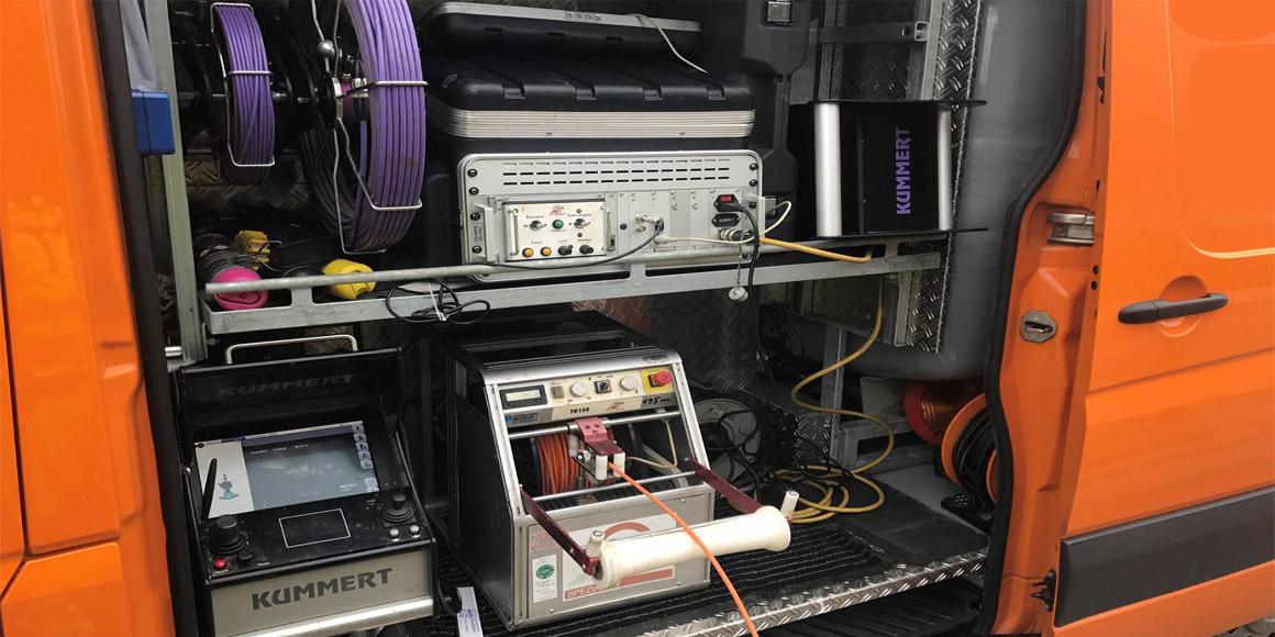 Rohr- und Kanal Reinigungdienst-TV-Inspektion